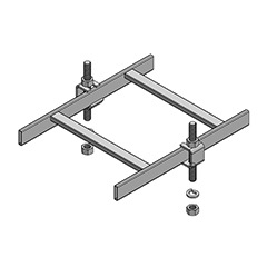 Slotted Runway Support Bracket