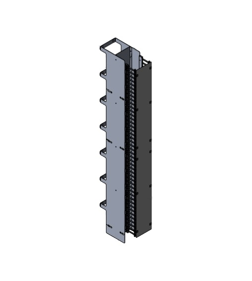 Vertical Cable Manager Dual Combo